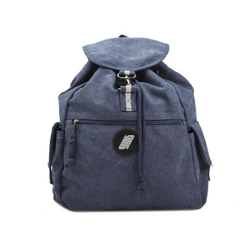 United Canvas Backpack Navy Bue